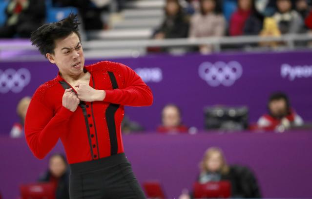 Vincent Zhou pulled off five quads in his men's free skate. Just a few years ago, that would not have been possible. (EFE)
