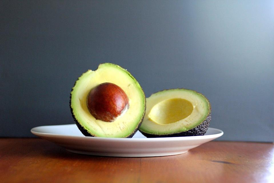 """<p>Avocados, peanut butter, sweet potatoes, brown rice - these foods are all nutritious, but that doesn't mean they're void of calories. You still need to be aware of serving sizes, even for foods that are good for you. Here's a handy guide for <a href=""""https://www.popsugar.com/fitness/Serving-Sizes-High-Calorie-Foods-22292588"""" class=""""link rapid-noclick-resp"""" rel=""""nofollow noopener"""" target=""""_blank"""" data-ylk=""""slk:portion sizes of calorie-dense healthy foods"""">portion sizes of calorie-dense healthy foods</a>. </p>"""