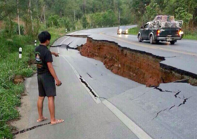 Quake causes light damage in Thailand, Myanmar