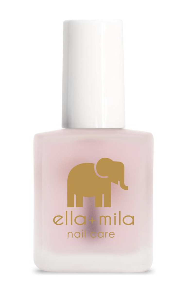 """<p><strong>Ella and Mila</strong></p><p>ellamila.com</p><p><strong>$10.50</strong></p><p><a href=""""https://go.redirectingat.com?id=74968X1596630&url=https%3A%2F%2Fwww.ellamila.com%2Fcollections%2Fnail-care%2Fproducts%2Ffirst-aid-kiss&sref=https%3A%2F%2Fwww.oprahdaily.com%2Fbeauty%2Fg36209337%2Fbest-nail-strengtheners%2F"""" rel=""""nofollow noopener"""" target=""""_blank"""" data-ylk=""""slk:Shop Now"""" class=""""link rapid-noclick-resp"""">Shop Now</a></p><p>Here's an option that's free of 7 potentially toxic chemicals and infused with nourishing vitamin E. The application process is a bit trickier, says Sunshine: """"Apply one coat after your nails are manicured and then remove and apply again on week two. On the third week, apply one coat every other day but remove and apply after day two and apply again. Repeat that process for one more week and, once completed, continue to use as a base coat under your polish of choice."""" This is for those who can commit, clearly.</p>"""