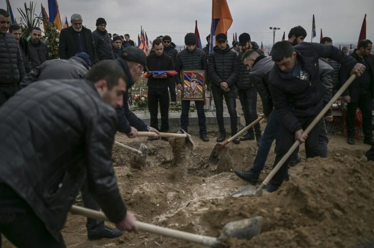 The six-week Nagorno-Karabakh conflict with Aerbaijan claimed around 6,000 lives last year