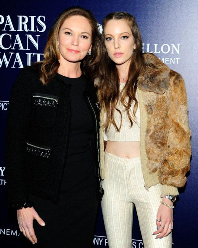 Diane Lane and her daughter, Eleanor Lambert. (Photo: Getty Images)