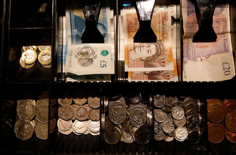 Sterling sinks to two-month low ahead of Brexit talks