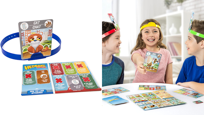 Gifts for kids: Hedbanz Jr.