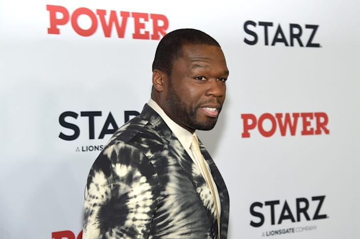 """Curtis """"50 Cent"""" Jackson at STARZ Madison Square Garden """"Power"""" Season 6 Red Carpet Premiere, Concert, and Party on August 20, 2019 in New York City. (Photo by Jamie McCarthy/Getty Images for STARZ)"""