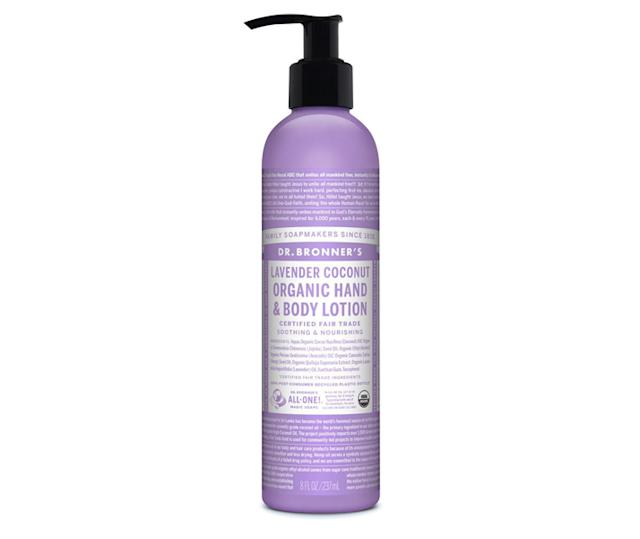 Dr. Bronner Organic Lotion in Lavender Coconut