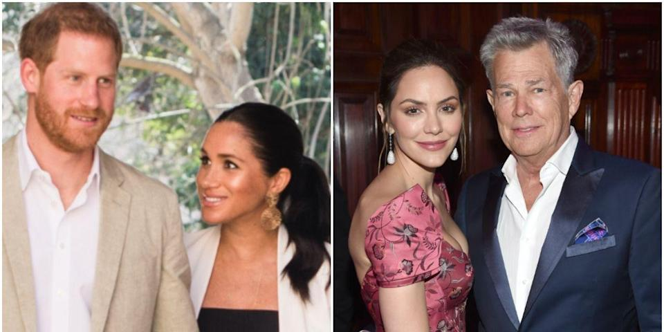 Meghan and Harry Were Seen on a Double Date With David Foster and Katharine McPhee Amid Baby News