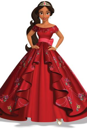 Disney\'s Newest Princess Will Wear a Beautiful Red Gown