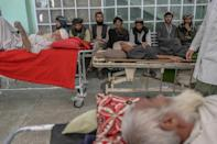 More people have been able to access hospitals since the end of fighting in Afghanistan (AFP/BULENT KILIC)