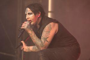 Marilyn Manson at Aftershock