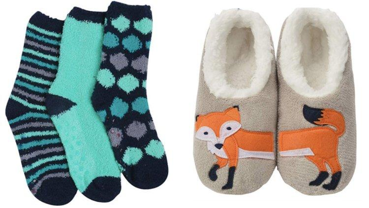 3-pack socks and fox socks