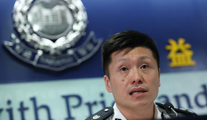 Chief Superintendent of Police Public Relations Branch, John Tse had announced the launch of the service on Tuesday. Photo: Sam Tsang