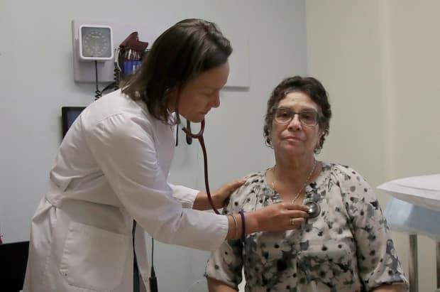 In Nova Scotia, many people rely on walk-in clinics where the doctor doesn't have the same knowledge of their medical history. (Jeff Chiu/Associated Press - image credit)