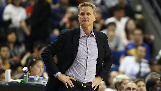 Steve Kerr wants to see amateur players have more control over their path to the NBA. (Getty)