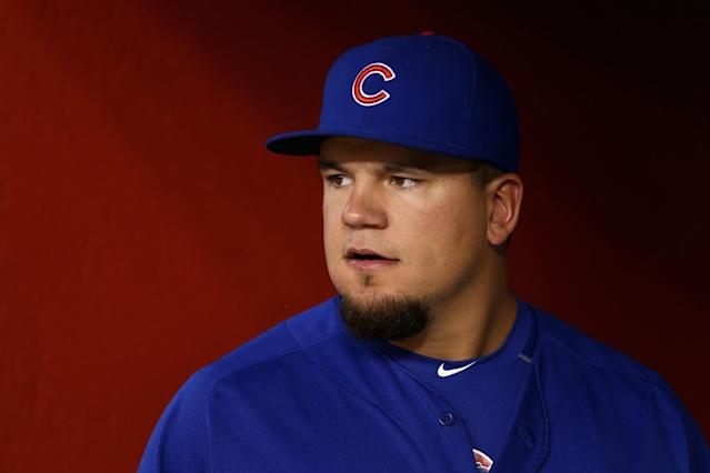 Let the Kyle Schwarber trade rumors begin. (Getty Images)