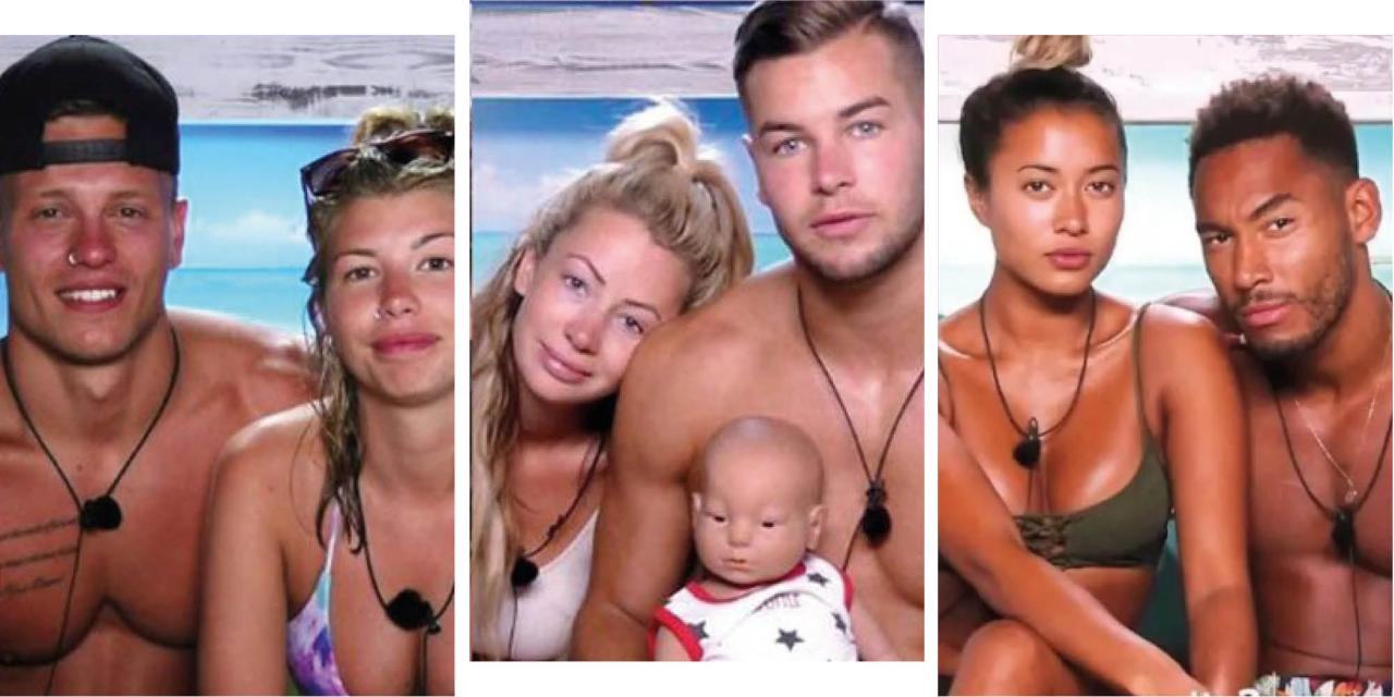 <p>Despite what you might think, just because you manage to find 'love' in a romantic villa in Mallorca, it doesn't mean it will last a lifetime - especially when you're back in drizzly ol' Blighty. So here's a look back at the <em>Love Island</em> couples who are still together, and who got well and truly mugged off.</p>
