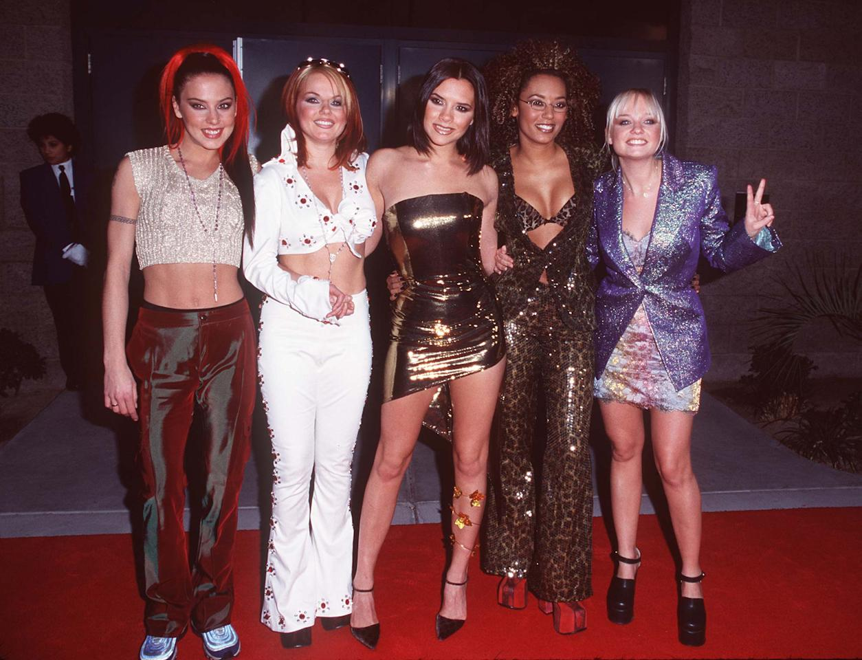 The Spice Girls dropped a bombshell about Victoria Beckham last night