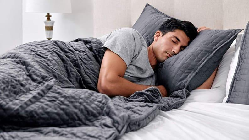 The best gifts for men: Gravity Weighted Blanket.