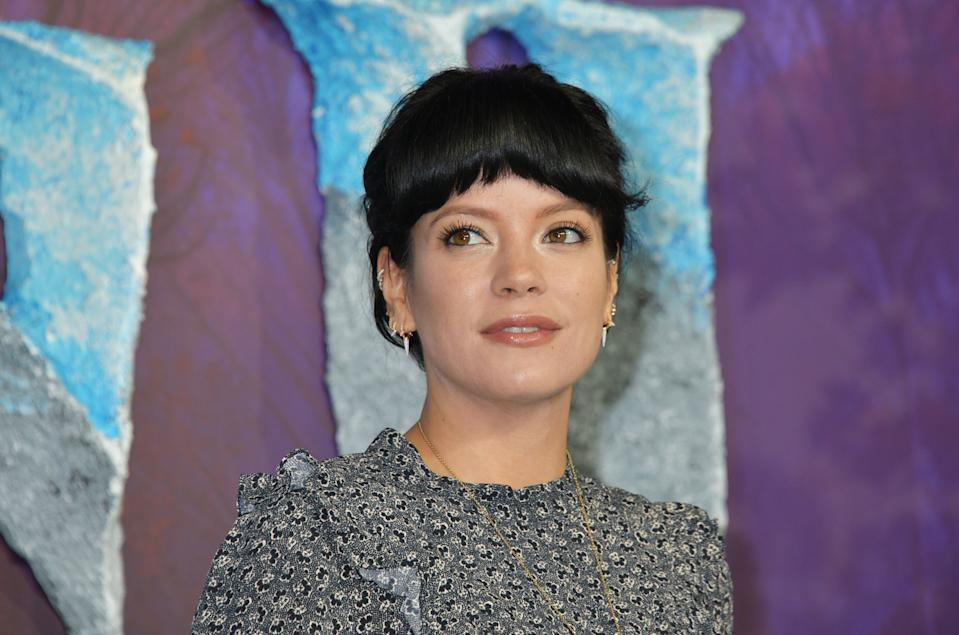 "Lily Allen attends the European Premiere of ""Frozen 2"" at the BFI Southbank on November 17, 2019 in London, England.  (Photo by David M. Benett/Dave Benett/WireImage)"