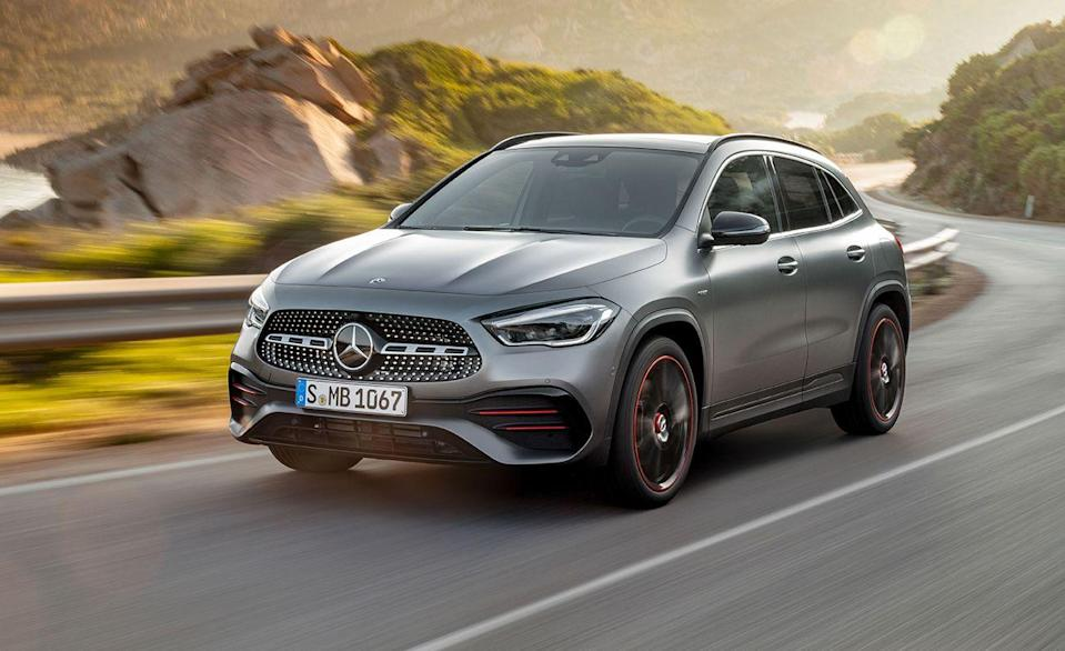 """<p>We've ranked the <a href=""""https://www.caranddriver.com/mercedes-benz/gla-class"""" rel=""""nofollow noopener"""" target=""""_blank"""" data-ylk=""""slk:Mercedes-Benz GLA-class"""" class=""""link rapid-noclick-resp"""">Mercedes-Benz GLA-class</a> as one of the <a href=""""https://www.caranddriver.com/features/g22063368/best-luxury-subcompact-suv/"""" rel=""""nofollow noopener"""" target=""""_blank"""" data-ylk=""""slk:best luxury subcompact crossovers sold today"""" class=""""link rapid-noclick-resp"""">best luxury subcompact crossovers sold today</a>, and the AMG version is a far angrier bird. The <a href=""""https://www.caranddriver.com/mercedes-amg/gla35-gla45"""" rel=""""nofollow noopener"""" target=""""_blank"""" data-ylk=""""slk:GLA45"""" class=""""link rapid-noclick-resp"""">GLA45</a> has been tuned by AMG, with the turbocharged inline-four boosted by nearly 150 horsepower to 382 horsepower, but this extra performance means sacrificing efficiency. Although the GLA45's 23 miles per gallon combined may pale in comparison to some of the other numbers on this list, it still makes it the worst performing car in what the EPA considers part of the small station wagon category.</p><ul><li>Base price: $56,000 </li><li>Engine: 382-hp turbo 2.0-liter inline-4 engine, eight-speed dual-clutch automatic transmission<br></li><li>EPA Fuel Economy combined/city/highway: 23/20/27 mpg</li></ul><p><a class=""""link rapid-noclick-resp"""" href=""""https://www.caranddriver.com/mercedes-amg/gla35-gla45/specs"""" rel=""""nofollow noopener"""" target=""""_blank"""" data-ylk=""""slk:MORE GLA45 SPECS"""">MORE GLA45 SPECS</a></p>"""