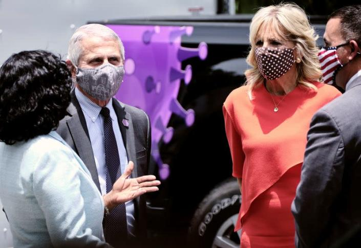 First lady Jill Biden travels to Florida to promote vaccinations