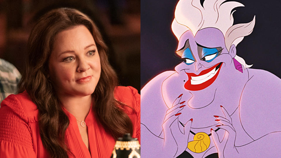 Melissa McCarthy will play Ursula for Rob Marshall in 'The Little Mermaid'. (Credit: Hopper Stone/Warner Bros/Disney)