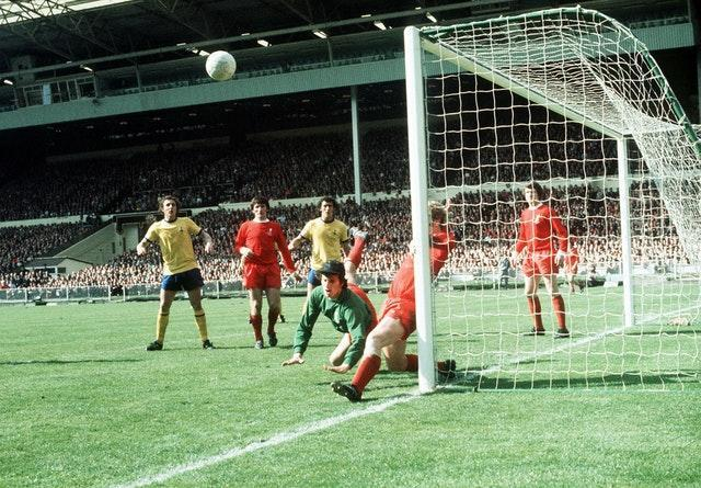 Clemence was in goal as Liverpool lost the 1971 FA Cup final against Arsenal after extra-time at Wembley