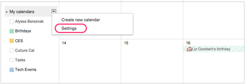 google calendar how to add birthdays