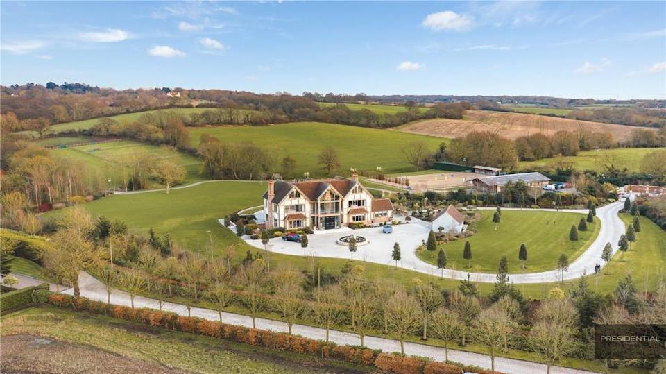 """<a href=""""https://www.rightmove.co.uk/properties/70432788#/channel=RES_BUY&id=media1&ref=photoCollage"""" rel=""""nofollow noopener"""" target=""""_blank"""" data-ylk=""""slk:Essex mansion, £15 million"""" class=""""link rapid-noclick-resp""""><strong>Essex mansion, £15 million</strong></a><br><br>This lavish Essex mansion is fit for The GC herself. Not only does it have a spa area with swimming pool, sauna and stream room, but there's an Olympic-sized equestrian centre and stables on site. <span class=""""copyright"""">Photo: Rightmove</span>"""
