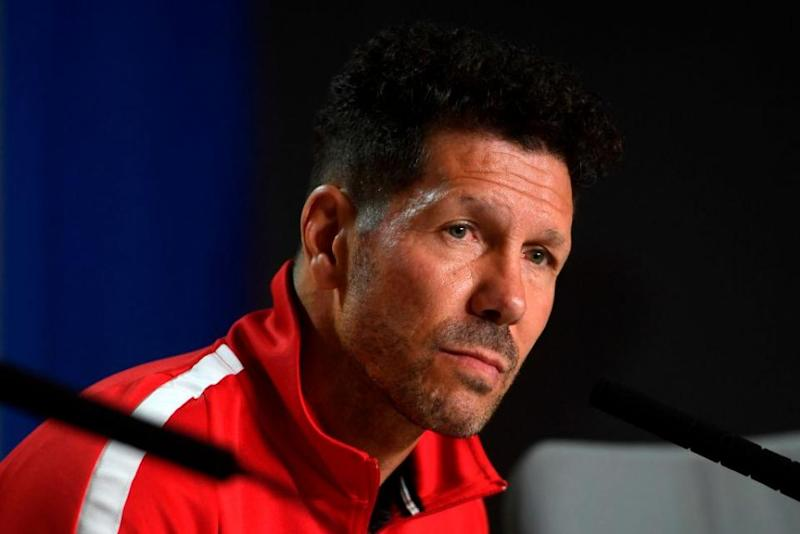Four-game European ban for Atletico coach Simeone