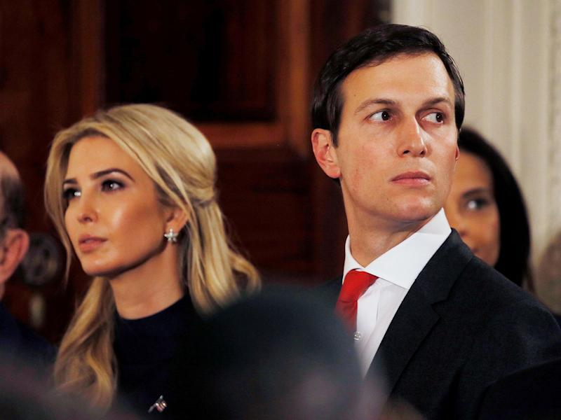 Mr Kushner reportedly did not see the article himself: Reuters