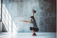 "<p>Flowing is a relatively <a href=""https://www.menshealth.com/fitness/a25256292/kettlebell-workout-flows/"" rel=""nofollow noopener"" target=""_blank"" data-ylk=""slk:new brand of fitness"" class=""link rapid-noclick-resp"">new brand of fitness</a> that has you chaining together a sequence of exercises, doing one move, then seamlessly shifting to the next and then the next after that. Imagine doing a kettlebell swing, followed by a clean, followed by a snatch, followed by a squat-to-press. It's like dancing with weights, and it draws from more venerable disciplines like yoga, gymnastics, martial arts, and breakdancing to do more than mere rep after rep of an exercise. </p><p>It's also incredibly demanding on both your cardiovascular system and your strength, challenging you to move quickly and athletically while handling a weight (although it can be done with bodyweight as well). The result: You wind up breaking a fierce sweat as you build strength and athleticism. <br></p><p>Flows do require more fitness experience than many kinds of cardio, because you'll want to flow only with exercise moves that you're comfortable with. But once you master enough exercises and get comfortable with several flows, you'll find yourself getting a total-body burn and burning serious calories all at once. </p>"