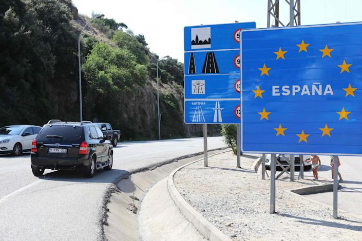 The UK has pulled its 'air bridge' with Spain (AFP via Getty Images)