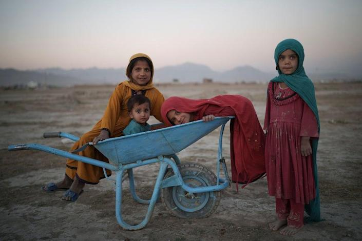 Afghanistan is currently gripped by human conflict, Covid and extreme drought (Copyright 2021 The Associated Press. All rights reserved.)