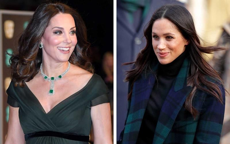 The One Thing Pregnant Kate Middleton Supposedly Looks to Meghan Markle for Advice on