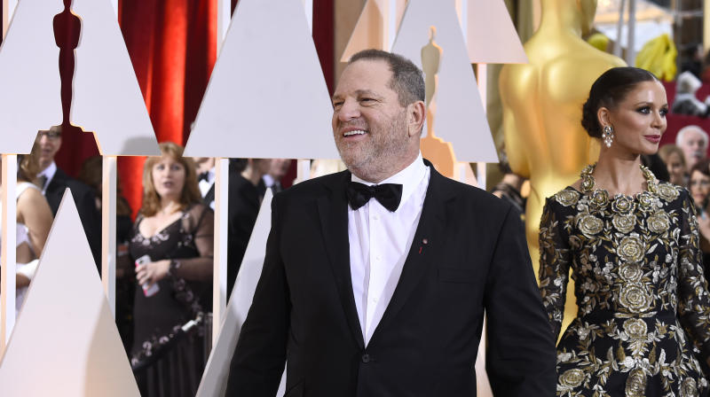 Hollywood's Academy To Hold Meeting Over Harvey Weinstein Allegations
