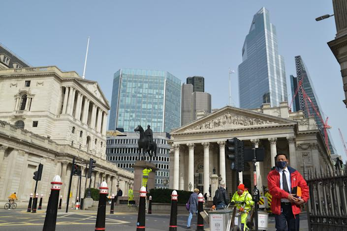 The FTSE closed higher after the bank holiday, despite fears of a third wave. Photo: Thomas Krych/SOPA Images/Sipa USA