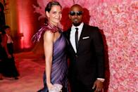 """The famously private couple has reportedly broken up after six years together, <a href=""""https://www.usmagazine.com/celebrity-news/news/katie-holmes-jamie-foxx-split-after-six-years-together/"""" rel=""""nofollow noopener"""" target=""""_blank"""" data-ylk=""""slk:Us Weekly"""" class=""""link rapid-noclick-resp""""><em>Us Weekly</em></a> reports. On Saturday, August 17, Foxx was spotted out with an up-and-coming singer, Sela Vave, though their relationship to each other is unknown. Meanwhile, <a href=""""https://pagesix.com/2019/08/19/katie-holmes-and-jamie-foxx-break-up-after-six-years-together/"""" rel=""""nofollow noopener"""" target=""""_blank"""" data-ylk=""""slk:Page Six"""" class=""""link rapid-noclick-resp"""">Page Six</a> reports Holmes was overheard at a restaurant telling a friend, """"What Jamie does is his business—we haven't been together for months."""" Neither Holmes nor Fox has confirmed the split."""