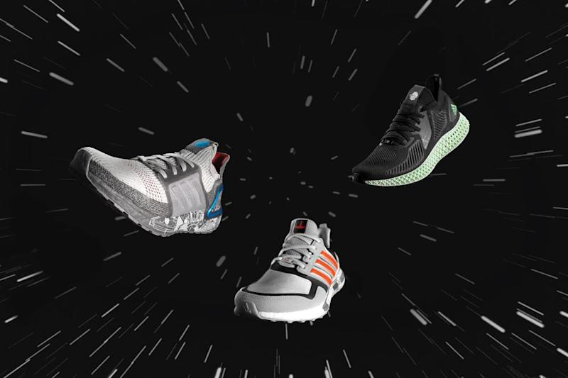 You don't have to go to a galaxy far, far away to score these cool kicks. (Photo: Adidas)