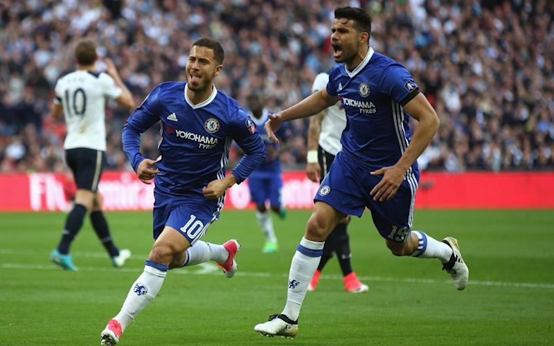 Most were shocked that Hazard had been left out, but it proved a stroke of genius from Antonio Conte - The FA Collection