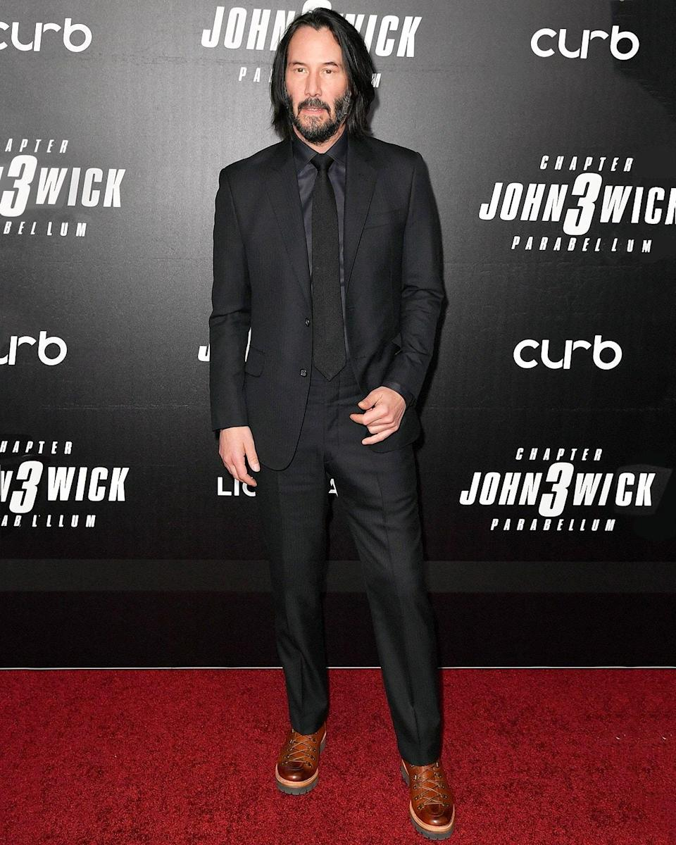 """<h1 class=""""title"""">May 10: Keanu Reeves</h1> <div class=""""caption""""> GQ cover star Keanu Reeves: never not a big fit. </div> <cite class=""""credit"""">ANGELA WEISS</cite>"""