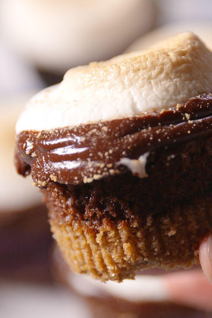 """<p>Who said s'mores season ends when the summer ends?</p><p>Get the recipe from <a href=""""https://www.delish.com/cooking/recipe-ideas/recipes/a48970/smores-cupcakes-recipe/"""" rel=""""nofollow noopener"""" target=""""_blank"""" data-ylk=""""slk:Delish"""" class=""""link rapid-noclick-resp"""">Delish</a>.</p>"""