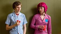 "<p>This irreverent and energetic movie stars Michael Cera as a slacker musician who hits the romantic jackpot when he meets his new girlfriend Ramona Flowers—but must defeat her seven evil exes in manic, video game-inspired fashion.</p><p><a class=""link rapid-noclick-resp"" href=""https://www.netflix.com/watch/70117312?trackId=13752289&tctx=0%2C0%2C5af33964-e40f-4285-a5e1-13fc42f5ebaa-96658848%2C%2C"" rel=""nofollow noopener"" target=""_blank"" data-ylk=""slk:Watch Now"">Watch Now</a></p>"