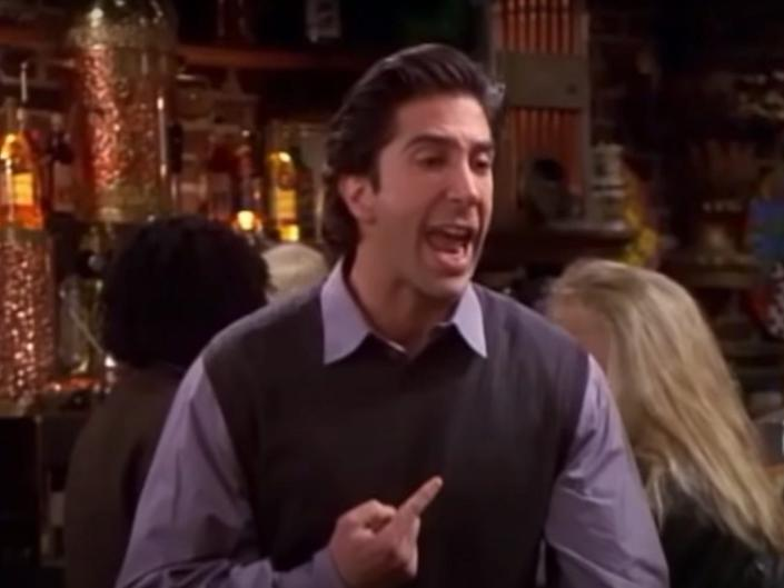 Ross was 30 years old, twice divorced, and just got evicted, after all.