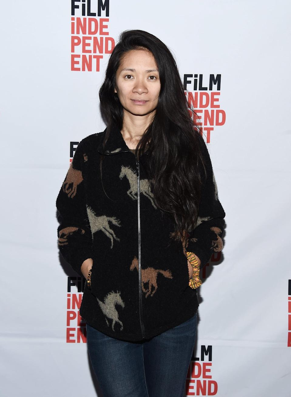 """<p>Back in 2018, Zhao mused to <strong>Vogue</strong> about the kind of storyteller she wanted to be, and landed on one major thing: hope. """"At a time like this, there's a need to see that there's good in America. We're always being told that we have to win all the time. But that's not real life,"""" she said. """"Our film's message isn't the typical Hollywood ending. [The protagonist] has lost something, but he doesn't give up. He never would."""" </p> <p>She added, """"I would never want to make a film without hope.""""</p>"""