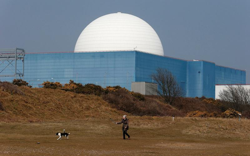 The Sizewell B nuclear power station in Suffolk - Reuters