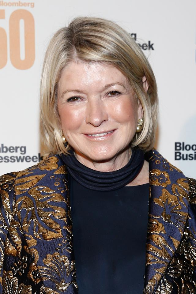 Even Martha Stewart struggles with selfies. (Photo: Brian Ach/Getty Images for Bloomberg)