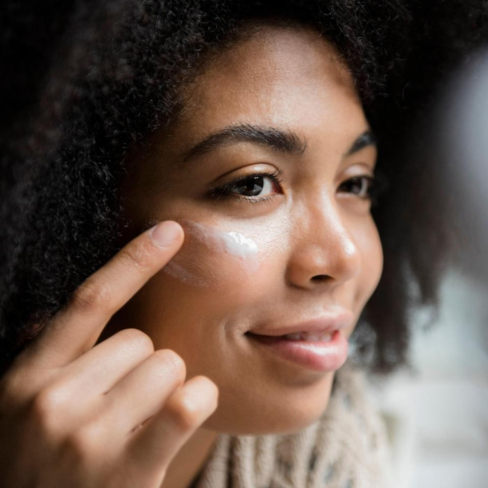 """Sometimes, even doctors break the rules: """"I know the instructions on the box often recommend waiting until your face is completely dry before applying a retinoid,"""" says Sachs. """"But there's no evidence in the scientific literature I've seen that shows damp or wet skin exacerbates sensitivity."""" And while we're on the topic, applying a retinoid to damp skin doesn't maximize its potency, either. """"Nothing having to do with application decides how much of the retinol is converted into retinoic acid, the form of vitamin A that actually repairs skin,"""" Sachs says. """"That's solely related to your skin's chemistry and retinoid receptors."""""""