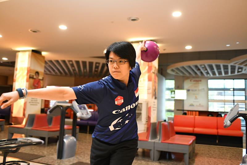 Singapore bowler Cherie Tan has won five golds and five silvers at the SEA Games since 2011. (PHOTO: Stefaus Ian/Yahoo News Singapore)