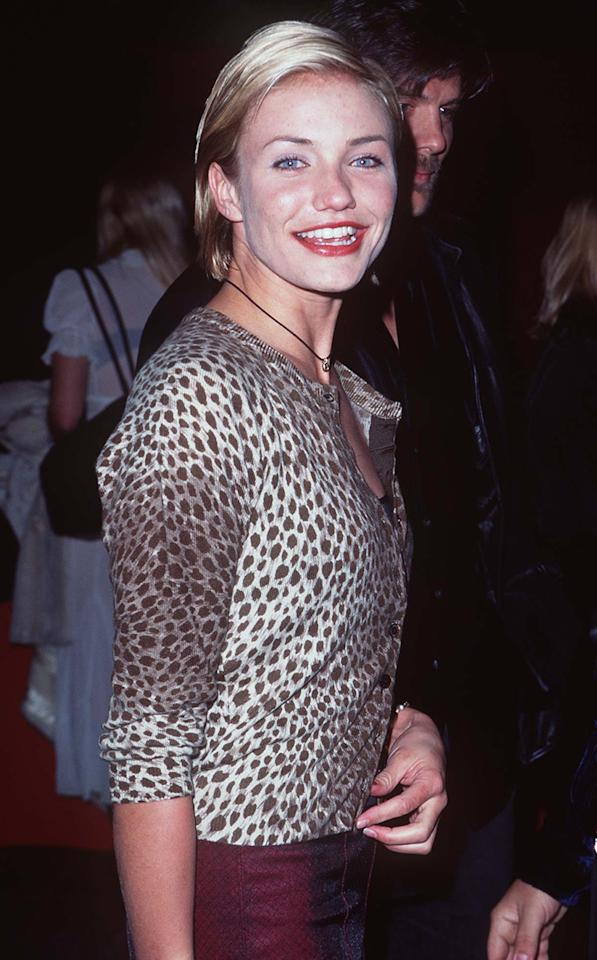 <p>The actress, who made her film debut in 1994's 'The Mask,' shot 'My Best Friend's Wedding' in 1996. (Photo: Steve Granitz/WireImage) </p>